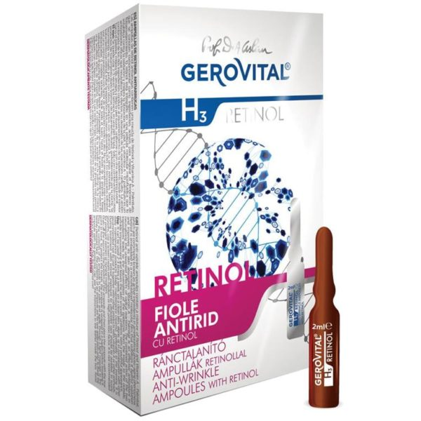 Anti-wrinkle ampoules with retinol 1