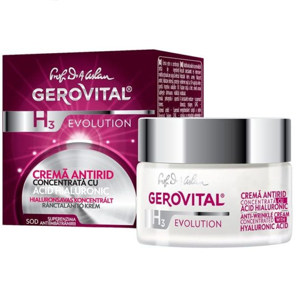 Anti-wrinkle cream concentrated with Hyaluronic Acid 3% 1
