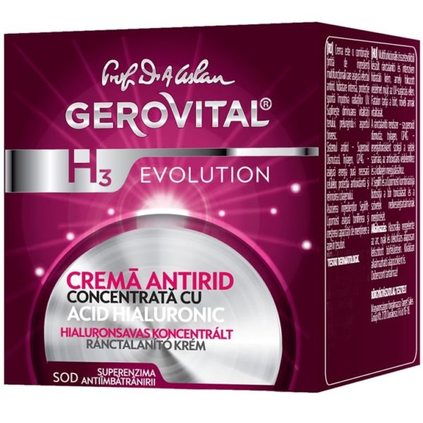 Anti-wrinkle cream concentrated with Hyaluronic Acid 3% 2