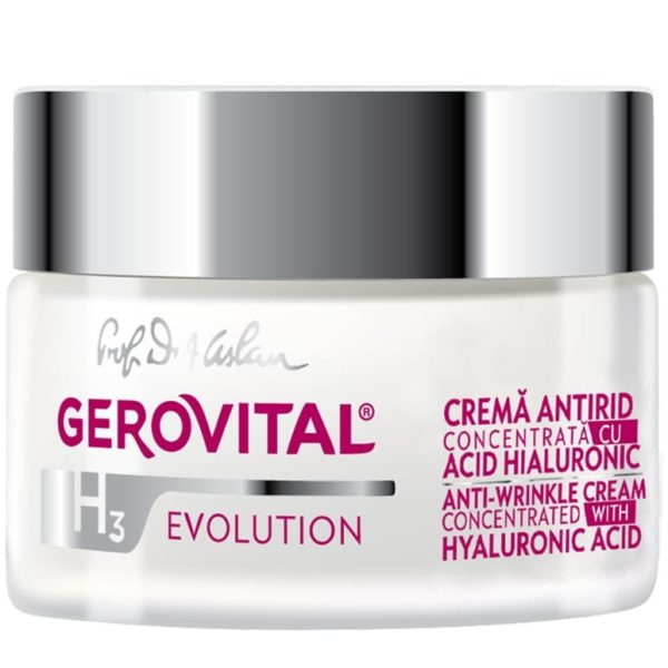 Anti-wrinkle cream concentrated with Hyaluronic Acid 3% 3