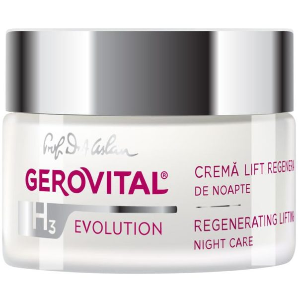 Regenerating Lifting Cream – Night care 3